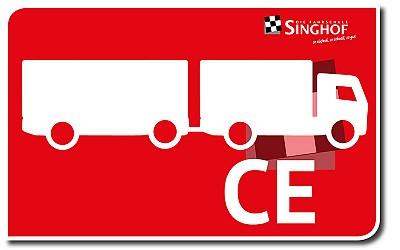 Lkw über 7,5 t + Anhänger: CE